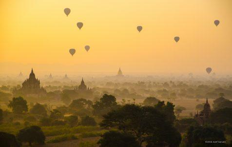 Backpacking Route Myanmar (Burma)