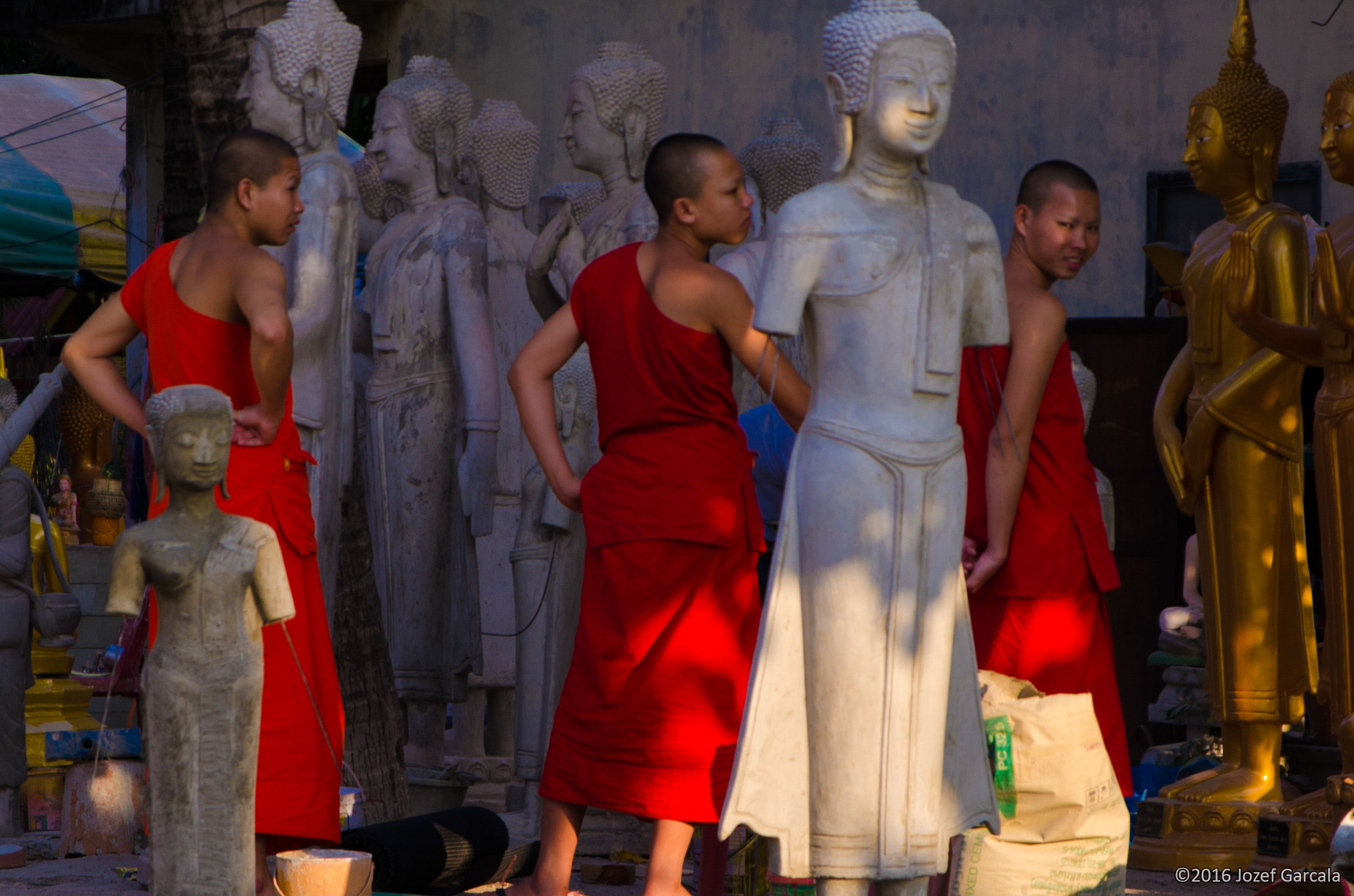 The Monks And The Buddhas