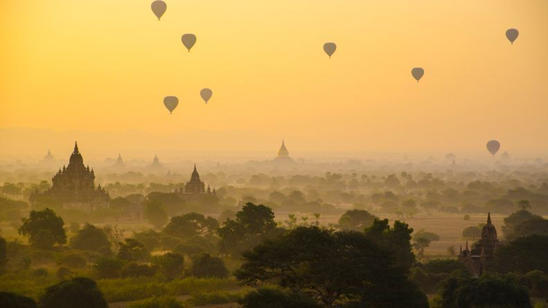 Backpacking Route Myanmar (Burma)